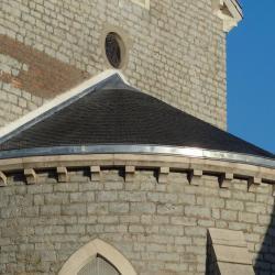 Abside de l'Église Notre Dame à Montceau les mines