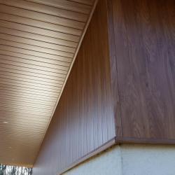 Débords de toit en PVC