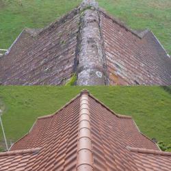 Rénovation de toiture de l'Auberge du Plain Joly